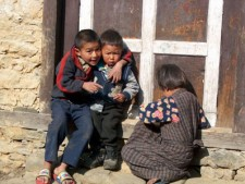 Children in the Khumbu