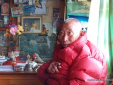 Update: Lama Geshe back in Pangaboche
