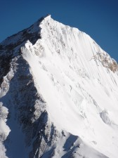 Photo of Southeast Ridge the day I summited in 2011 taken by Simon Arnsby from Lhotse