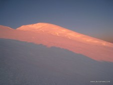 Elbrus at sunrise