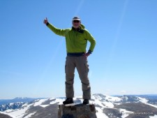 Alan on Kosciuszko&#039;s Summit