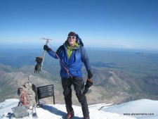 Alan on Elbrus Summit