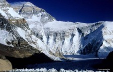Everest West Ridge from Tibet (courtsey research)