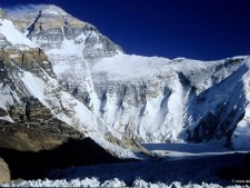 Everest West Ridge from Tibet (courtsey 8000ers.com)