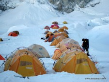 Western Cwm Camp 1 Everest 2011