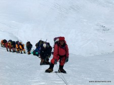 Sherpas on the Lhotse Face