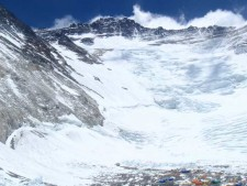 Everest 2012: Climbers Sleeping at C3 on Lhotse Face