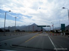 Checkpoint on the way to Huaraz