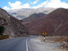 Countryside on the way to Huaraz
