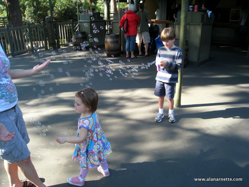 Children at Disneyland