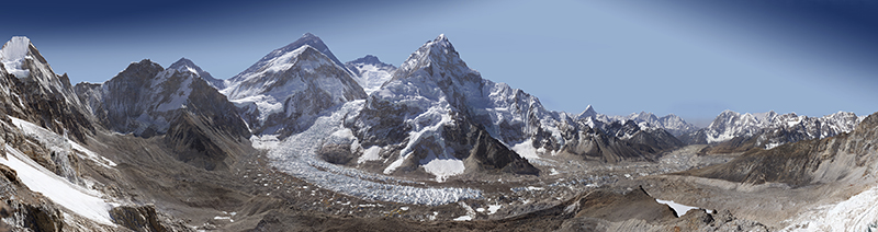 A Different View of Everest: 3.82 billion pixels
