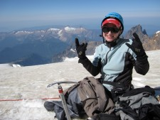 Everest 2013: Interview with Gosia Borchardt - Pushing Her Limits