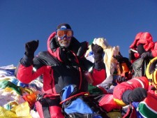 Everest 2013: Interview with Ronnie Muhl - Climbing From South Africa