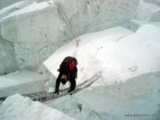Khumbu Icefall Ladders