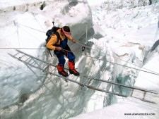 Everest 2014: First Steps in the Khumbu Icefall