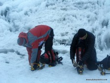 Everest 2013: First Steps into the Icefall
