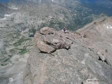 The Keyhole ridge