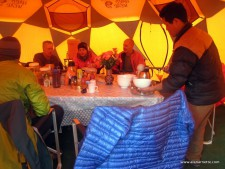 Manaslu 2013 - Base Camp Life