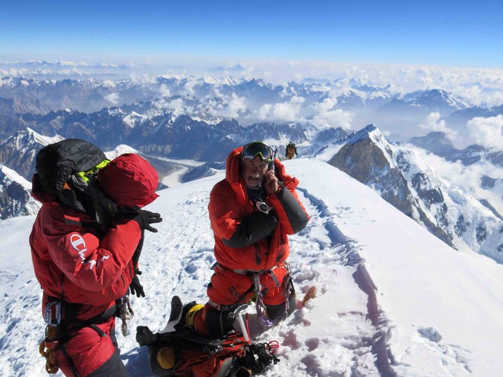 Alan On K2 Summit