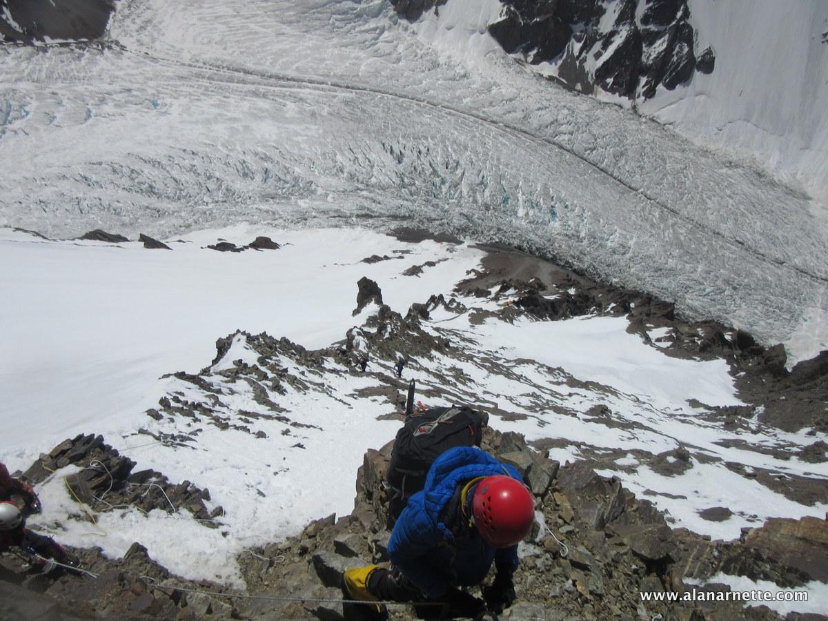 Down Climbing K2