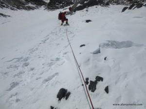 Down Climbing K2 Alan
