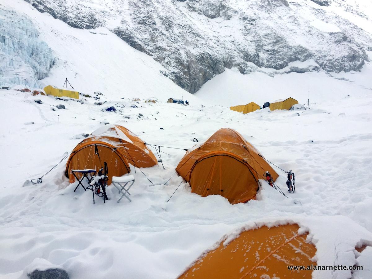 Camp 2 - Everest 2015