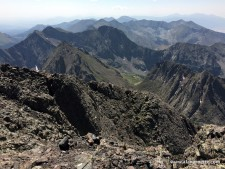 Colorado 14er: Crestone Peak to Needle Traverse