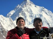 Kami and Alan on K2