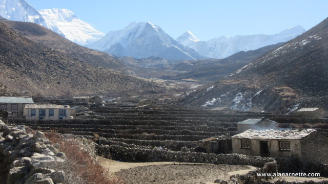 Valley above Dingboche
