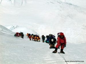 Lhotse Face Line 2003