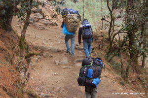 Trekking the Khumbu
