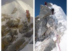 Hillary Step by Jamie McGuiness and Tim Mosedale