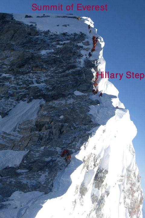 everest 2018 hillary step or slope the blog on