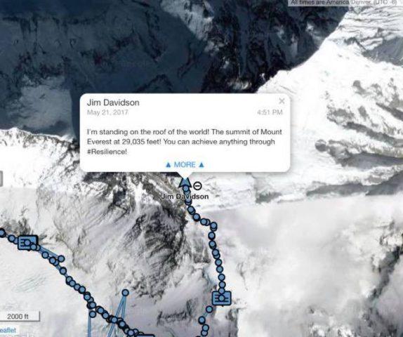Jim's Everest Tracker