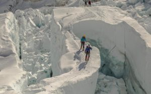Khumbu Icefall 2017. courtesy of Ben Jones