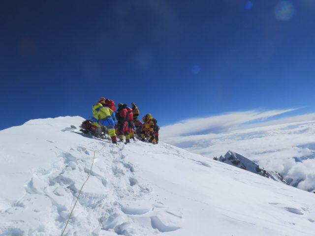 Mingma Gyalje Sherpaon K2 in 2017