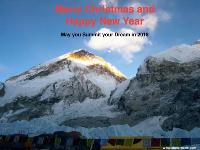 Merry Christmas and Happy New Year 2017/18