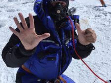 Mike Hamill on his 6th Everest summit.