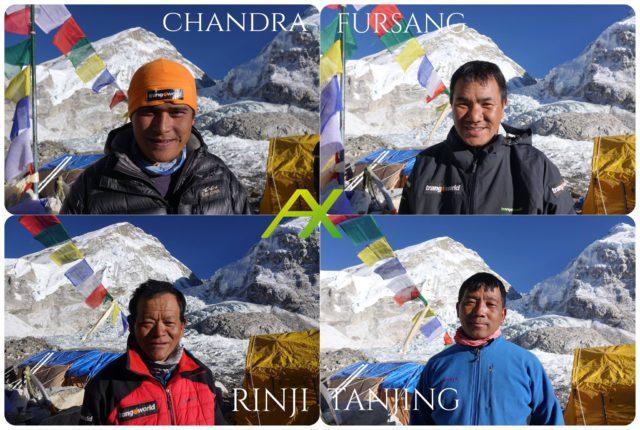 Winter Everest Sherpas