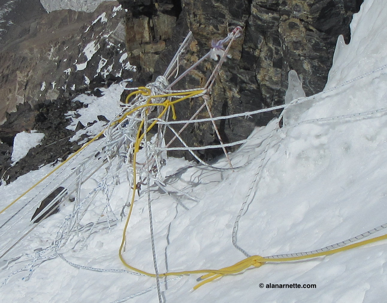 K2 2018 Summer Coverage: K2 Climber Falls to | The ... Map Of K Accident on