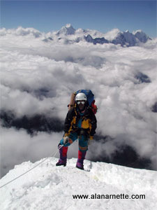 Lhapka on Ama Dablam 2000