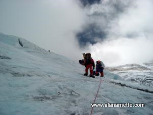 Climbing the Lhotse Face