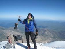 Alan on Elbrus Summit
