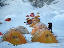 Western Cwm Camp 1 Everest 2011