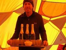 Phil Crampton, Altitude Junkies, at Everest North Base Camp