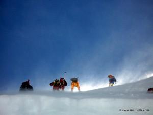 Lhotse Face Climbers
