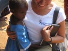 Georgina Miranda in the Congo