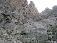 Longs Peak Northwest Couloir