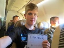 Alex Staniforth Everest 2014 thanks
