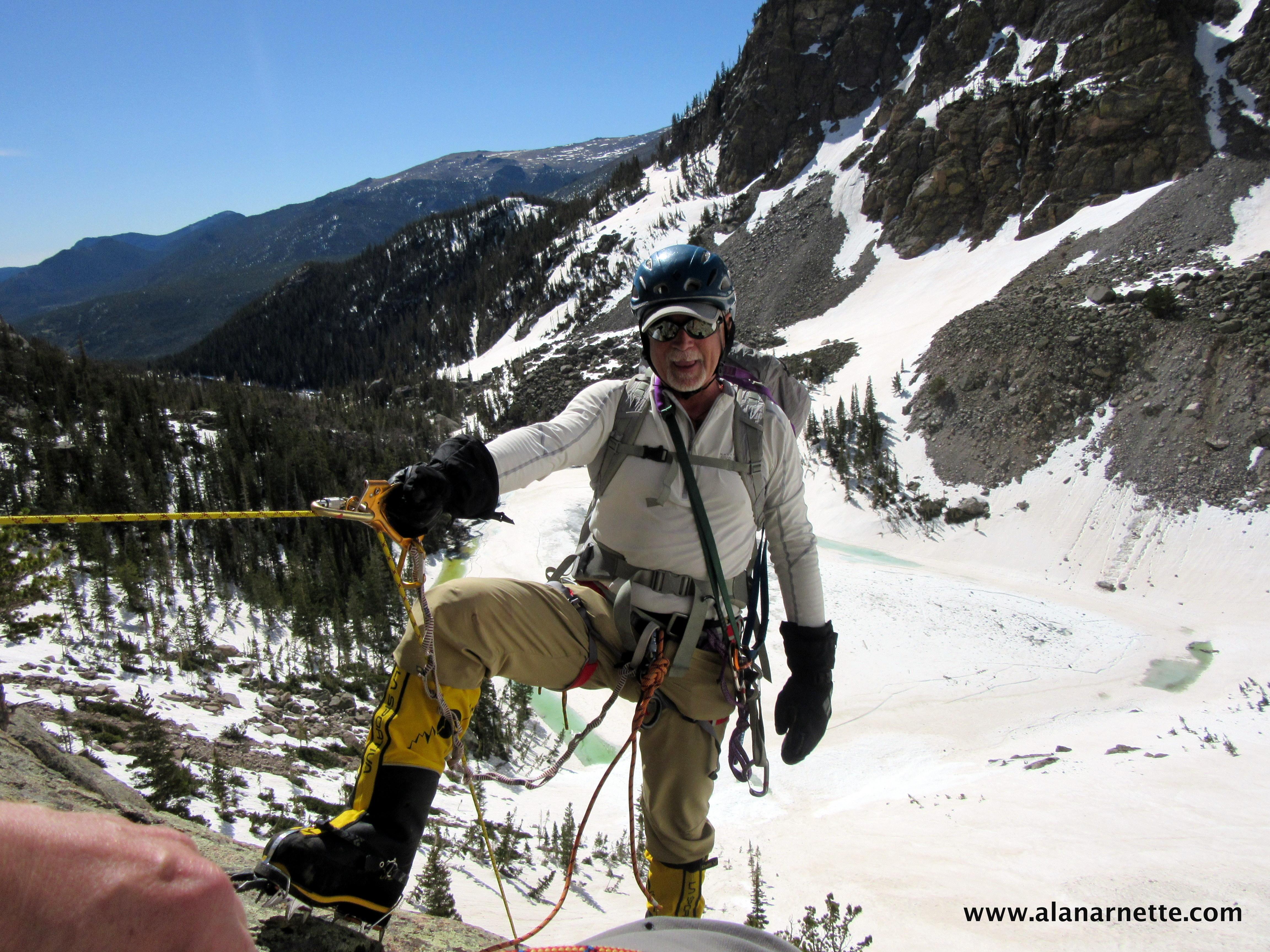K2 training on Rocky Mountain National park